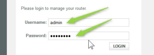 type the Comcast login details