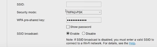 Change the huawei SSID and wireless password