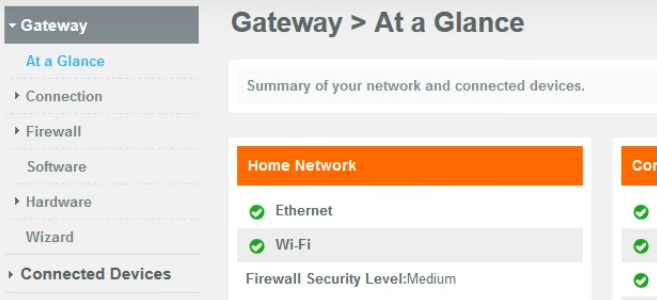 Comcast Xfinity admin tool page