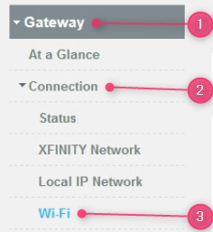 Comcast Xfinity Router Login