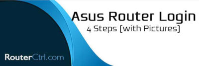 Asus Router Login: 4 Steps (with Pictures)