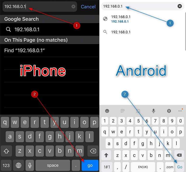 How to Access Router Settings from Phone (iPhone and Android)