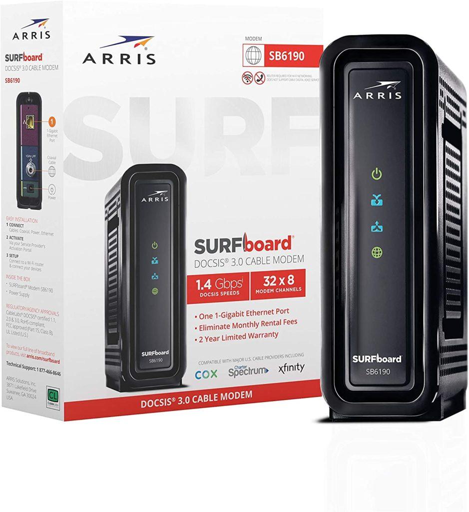 ARRIS SURFboard SB6190