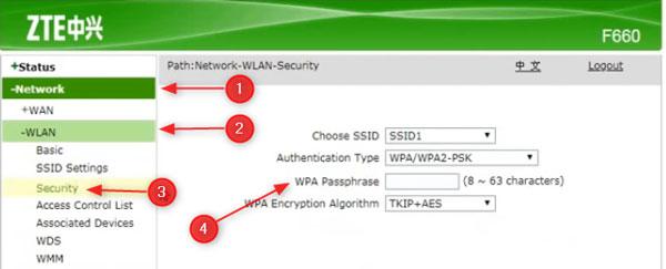 How to Change ZTE Wi-Fi Password