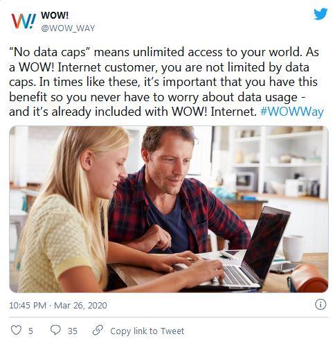 No data caps