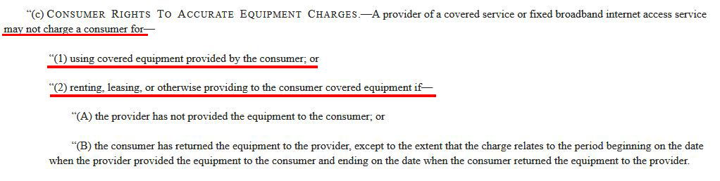 Paragraph C of the Television Viewer Protection Act