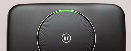 green light on BT Hub