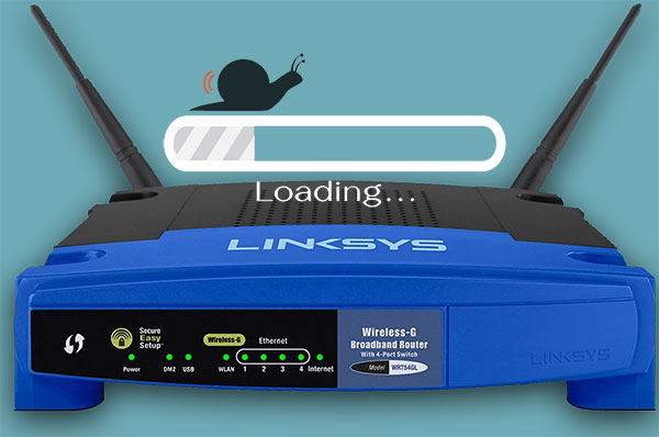 Linksys Router Not Getting Full Speed