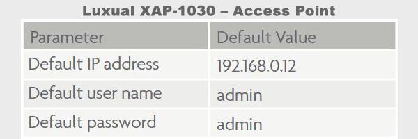 Luxul XAP-1030