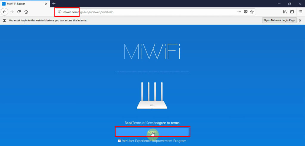 miwifi.com instead of 192.168.31.1