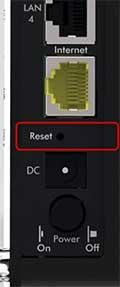 netgear n900 factory reset button