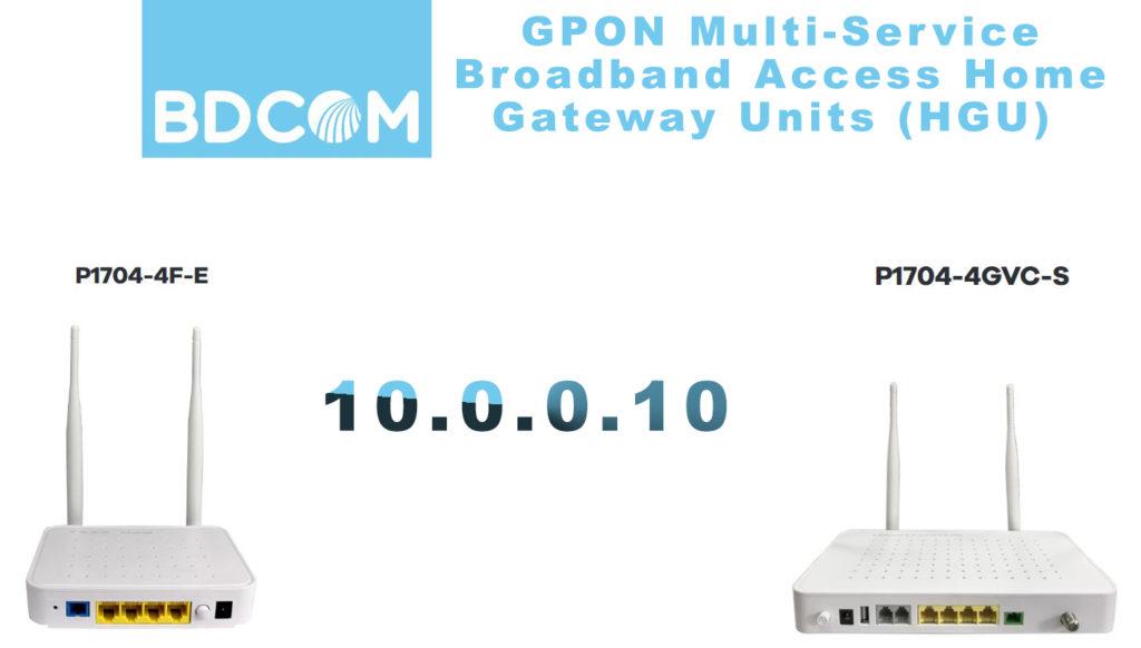 10.0.0.10 as a default IP address