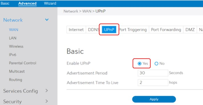 How To Enable UPnP On Spectrum Router