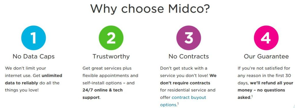 Midco Internet Plans and Services