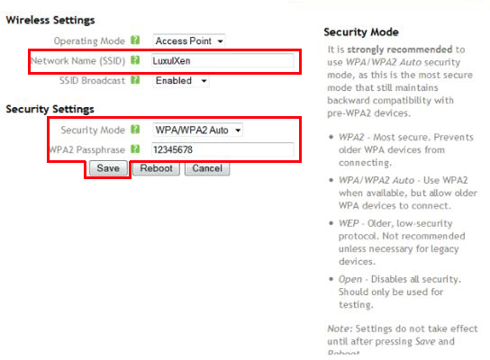 WPA and WPA2