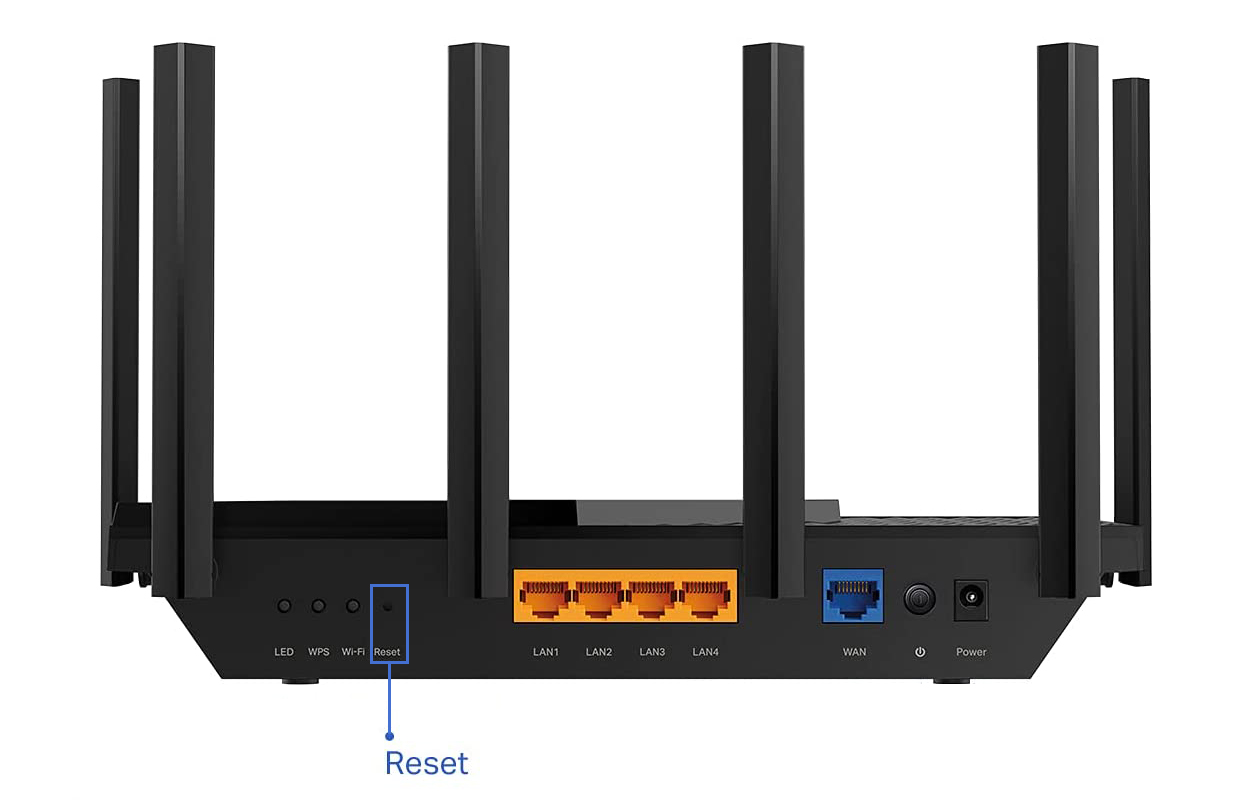 hard-reset your router