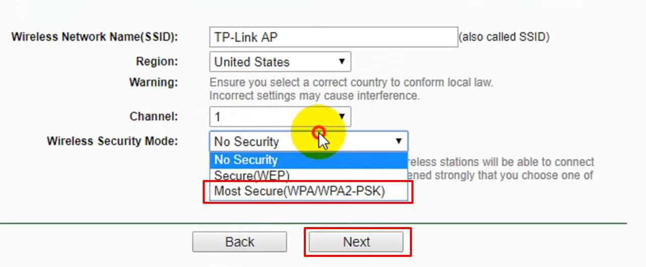 wireless security protocol