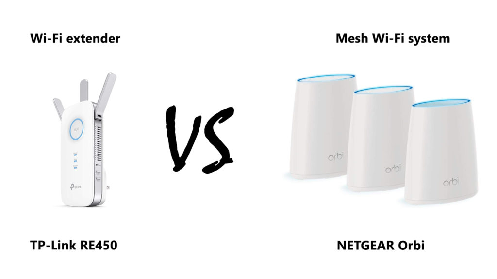 Difference Between a Wi-Fi Extender and a Mesh System
