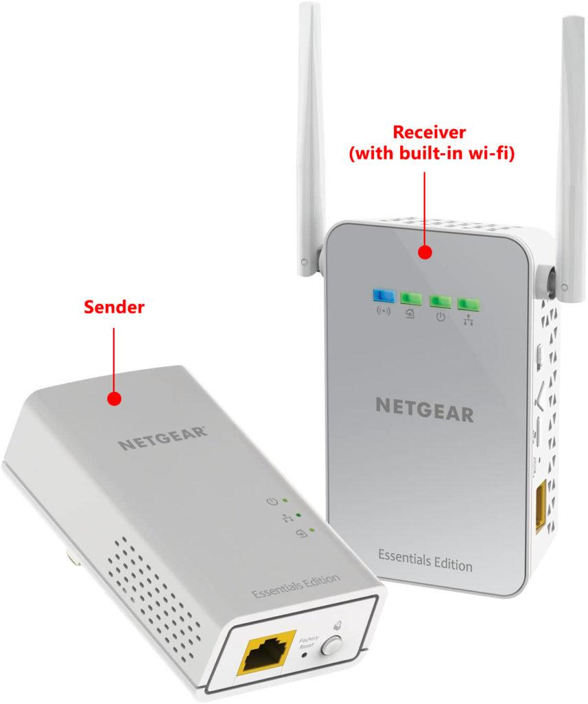 NETGEAR PLW1010 hybrid wi-fi extender kit