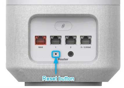 reset button on verizon fios 5g